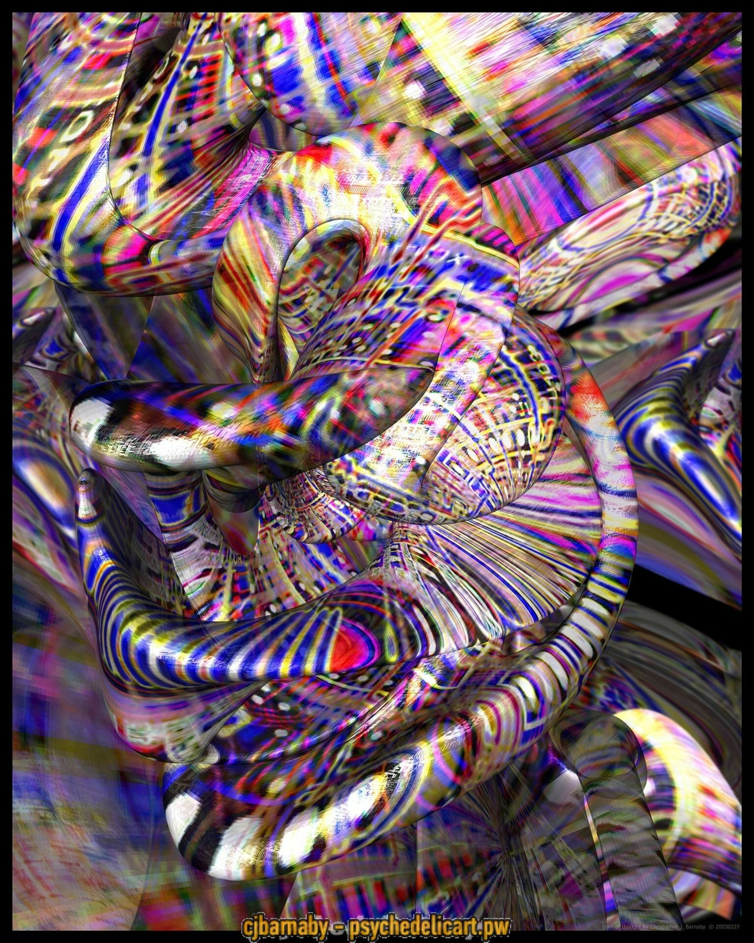 psychedelic art http://psychedelicart.pw/wp-content/uploads/Train-Of-Thought.jpg